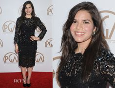 America Ferrera In Dolce & Gabbana at the 2015 Producers Guild Awards