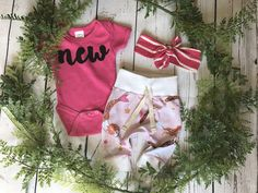 Newborn Girls Take Home Outfit / Newborn Girl Coming Home Outfit / Baby Mermaid Outfit // Girls Mermaid Clothes Set // Preemie Outfit