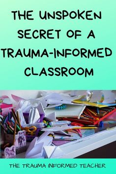 Trauma-informed classrooms can leave huge, lasting impacts on students, but the process can get messy. Teachers need to check out this post to learn the unspoken secret of a trauma-informed classroom. Elementary Counseling, School Counselor, Elementary Teacher, Elementary Schools, Grief Counseling, Career Counseling, Classroom Behavior, Classroom Management, Behaviour Management