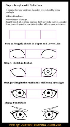 How to Draw Anime Eyes 3 by ~LeQueen