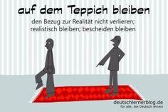 auf_dem_Teppich_bleiben_Redewendungen_Bilder_deutschlernerblog