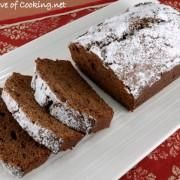 DOUBLE CHOCOLATE BANANA BREAD via Fortheloveofcooking.net // #overripe #banana #banan bread