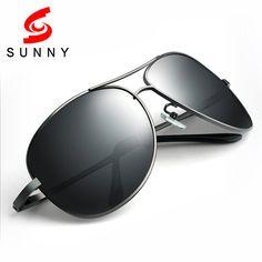 2016 High Quality Oversized Sunglasses Men Polarized Drive Sun Glasses Big Polaroid Male Anti UV400 Protect Anti-Reflective 215