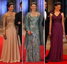 Coroação na Holanda: os vestidos das princesas - Constance Zahn | Casamentos