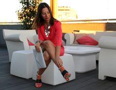 Look Coral Dolceevita #moda #tendencias #fashion