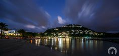 Windjammer Landing at night #WindjammerLanding #WJLStLucia