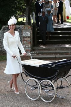 Princess Charlotte's christening, 2015 - The 100 Most Iconic Dresses of All Time
