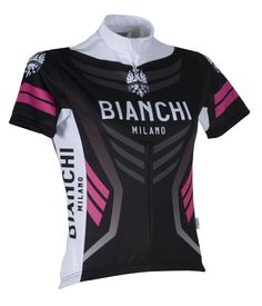 Buy Bianchi Women s Navia Short Sleeve Jersey - Black Pink here at  ProBikeKit UK - with great prices on bikes e304428b2