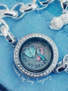 Origami Owl Authentic Charms for Living Locket Force for Good Ribbons Autism NEW