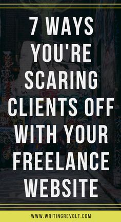 Does your freelance writer website suck? Are you scaring potential freelance writing clients off? Find out + learn how to use your site to win more work! | make money writing online | freelance writing for beginners | freelance writing tips |