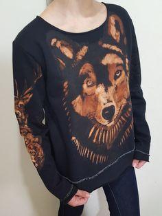 Moleton Lobo com toten