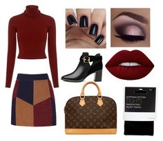 """""""Xoxoxo"""" by macie-miller-1 on Polyvore featuring A.L.C., LaMarque, John Lewis, Ted Baker, Louis Vuitton, tarte and Lime Crime"""