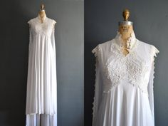 70s wedding dress / 1970s wedding dress / by BreanneFaouzi on Etsy, $198.00