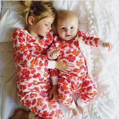 Sisters! @janenecrossley shop cozy pajamas at spearmintLOVE.com