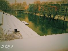 Winter in Marburg, Deutschland, الشتاء في ألمانيا
