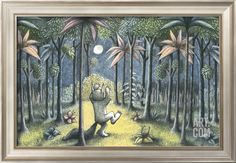 To the Land of the Wild Things Art Print by Maurice Sendak at Art.com