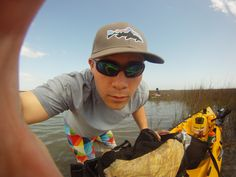 Is this Go Pro working? #kayakfishingproblems