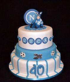 Napoli football cake