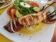 Greek kalamari