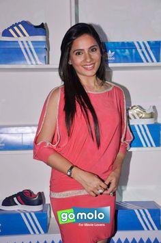 Kanchi Kaul at Adidas bash at Blue Frog in Mumbai Mumbai, Sari, Beautiful Women, Celebs, Adidas, Indian, My Love, Blue, Dresses