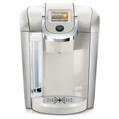 A premium coffee maker. The Keurig K475 Coffee Maker features revolutionary Keurig 2.0 Brewing Technology, designed to read the lid of each K-Cup, K-Mug, or K-Carafe pod to brew the perfect beverage e