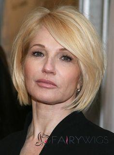 Newest Short Blonde Female Celebrity Hairstyle