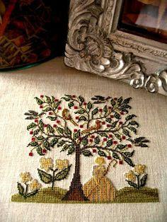 La D Da lovers and stitchers' blog: Maria