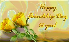 Happy Friendship Day to everyone in Advance !!!