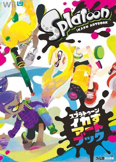 Splatoon Ikasu official Artbook