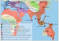 Homo Sapiens Map