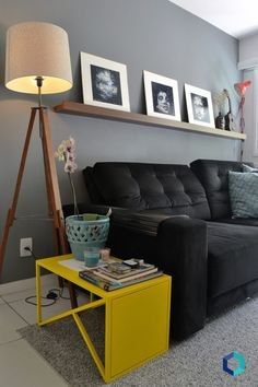 Carol Dias - como redecorar a sala - quadros