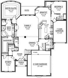 Stunning Traditional Home Plan - 36305TX   1st Floor Master Suite, Butler Walk-in Pantry, CAD Available, Corner Lot, Den-Office-Library-Study, European, Hill Country, Luxury, Media-Game-Home Theater, PDF, Photo Gallery, Premium Collection, Traditional   Architectural Designs