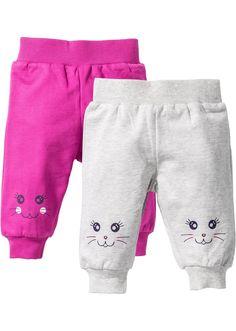 Dětské kalhoty (2 ks) z organické bavlny • 398.0 Kč • bonprix
