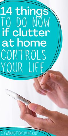 LOOKING TO GET ORGANISED AND FOR HELP TO RAPIDLY DECLUTTER YOUR HOME? Does clutter take over and control your life? But you don't know where to start? Take a look at our ultimate guide on how to declutter your home and your life in 14 easy steps. Declutter Your Home, Organizing Your Home, Home Organisation Tips, Organization, How To Get Motivated, Good Housekeeping, Self Improvement Tips, Getting Organized, Homemaking