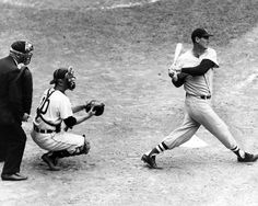 January 20, 1966: Ted Williams was elected to the National Baseball Hall of Fame with a career .344 avg, 2 MVP seasons and 6 batting titles.