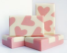 Soap with silk