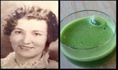 Ela começou a tomar esta receita caseira, e graças a ela chegou aos 80 anos sem um único cabelo branco. O segredo...