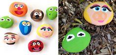 Ideas chulas para pintar piedras de playa | Sapos y princesas | EL MUNDO