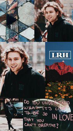 Luke Hemmings, Michael Clifford, 5 Seconds Of Summer, 5sos Collage, Solar System Room, 5sos Wallpaper, 5sos Lyrics, Luke Roberts, Pop Rock