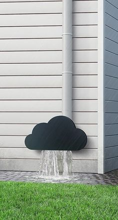 """The home owner in me says """" Cool idea! """" The Realtor in me says """" Keep water away from your foundation."""" So torn..."""