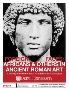 - Africans and others in ancient roman art.