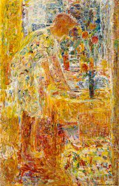 Rafael Wardi Ikkunan ääressä. Kansallisgalleria - Taidekokoelmat - Ikkunan ääressä