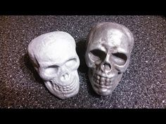 """▶ How to: """"LOST-FOAM CASTING"""" a Human Skull in ALUMINUM ! - YouTube"""