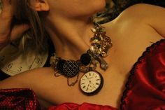 """Never throw anything away....this necklaces are made """"recycled, reused & retold jewelry"""" by Little Glass Clementine"""