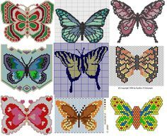 Butterfly bead weaving patterns