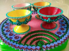 © Made by Home of Quilling – 3D Quilled kitchenware (Searched by Châu Khang)