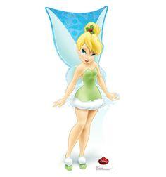 "Opentip.com: Advanced Graphics 1735 Tinker Bell Holiday - Disney - 36"" x 16"" Cardboard Standup"