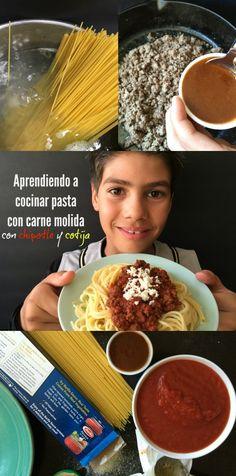 Aprendiendo a cocinar para celebrar el Día de las Madres
