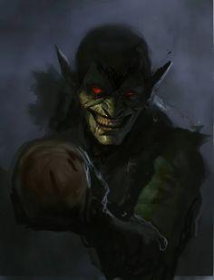 Creepy Goblin art