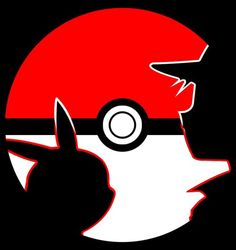 2014 carvings Pokemon Red And Pikachu Stencil by SteveDoninger